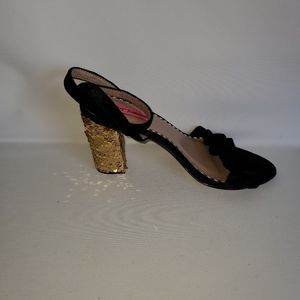 Betsey Johnson ankle straps back shoes size 7.5